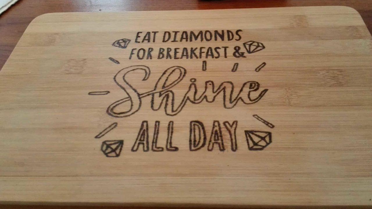 Snijplank Shine